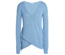 Woman Cotton Sweater Azure