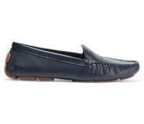 Maynard Leather Loafers Rauchblau