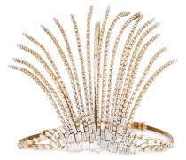 Divinita Crystal-embellished -tone Headband