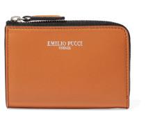 Leather Wallet Orange