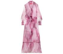 Tharos Printed Organza Kimono