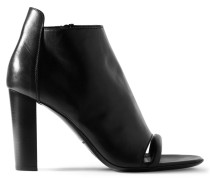 Leather Boots Schwarz