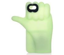 Thumbs Up Glow-in-the-dark Silicone Iphone 6 Case Hellgrün