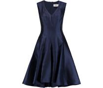 Duchesse-satin Dress Navy