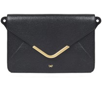 Postbox Textured-leather Wallet