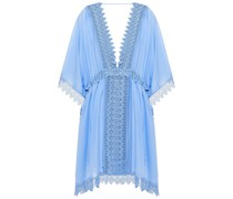 Lina Kleid aus Häkelspitze und Voile aus Einer Baumwollmischung
