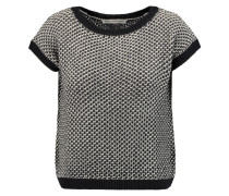 Knitted Cotton Sweater Navy
