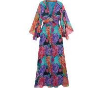 Miyazaki Mirage Crystal-embellished Silk Gown Mehrfarbig