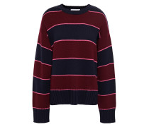 Intarsia Merino Wool Sweater