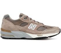 Sneakers mit Einsätzen aus Neopren, Mesh und Veloursleder