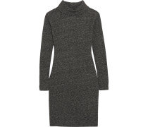 Knitted Turtleneck Sweater Dress Anthrazit