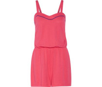 Dream Bella Pima cotton and modal-blend playsuit