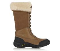 Adirondack Shearling-lined Leather Boots Braun