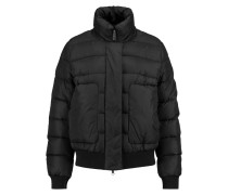 Quilted Shell Jacket Schwarz