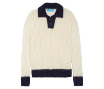 Mohair-blend Sweater Creme