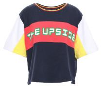 Color-block Cotton-jersey T-shirt