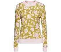 The Lovestruck Pullover aus Einer Kaschmirmischung mit Floralem Print