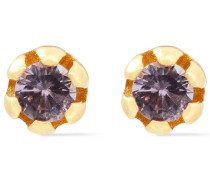 24-karat -plated Siamite Earrings