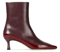 Bente Color-block Leather Ankle Boots