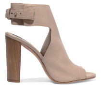Addie Leather Sandals Taupe