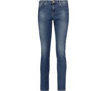 Pyper Mid-rise Slim-leg Jeans Dunkler Denim