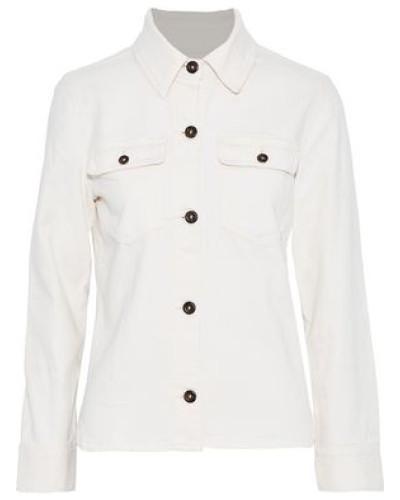 Easy Denim Jacket Ivory
