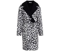 Mantel mit Leopardenprint