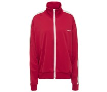 Two-tone Jersey Track Jacket
