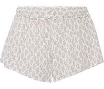 By The Sea Nicolette printed jersey shorts