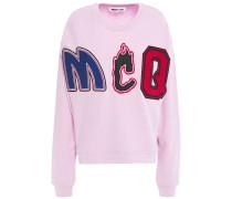 Appliquéd French Cotton-terry Sweatshirt