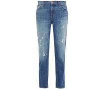 Jake Distressed Boyfriend Jeans