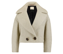 Wool-blend Bouclé Jacket Ecru