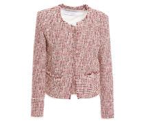 Riona Frayed Bouclé-tweed Jacket