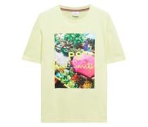 Bedrucktes T-shirt aus Biobaumwoll-jersey