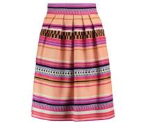 Charm jacquard skirt
