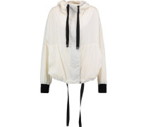 Shell hooded jacket