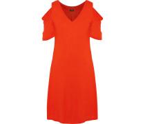Erika Cold-shoulder Stretch-jersey Nightdress Tomatenrot