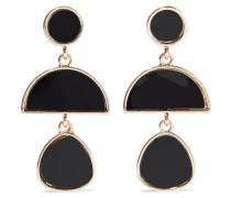22-karat Gold-plated Resin Earrings