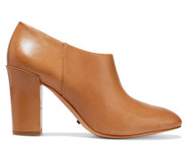 Catoben Leather Ankle Boots Braun