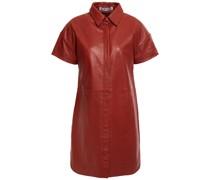 Santana Hemdkleid in Minilänge aus Leder