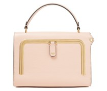 Postbox Small Textured-leather Tote