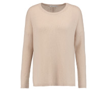 Open-knit Cashmere Sweater Neutral