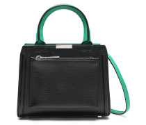 Micro City Victoria Mini Textured-leather Shoulder Bag