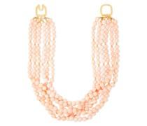 22-karat -plated Bead Necklace