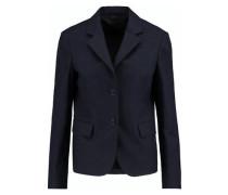 Wool-blend blazer