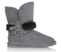 Hatchet Short Shearling Boots Grau