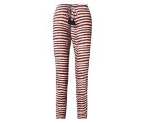 Manali Printed Cotton-poplin Straight-leg Pants