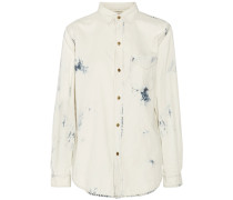 The Prep School Denim Shirt Weiß