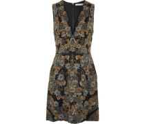 Pamela embellished silk-tulle mini dress