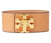 Kira Gold-tone Leather Bracelet